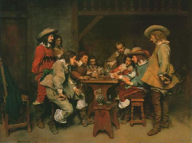 Jean-Louis-Ernest Meissonier [Public domain], via Wikimedia Commons